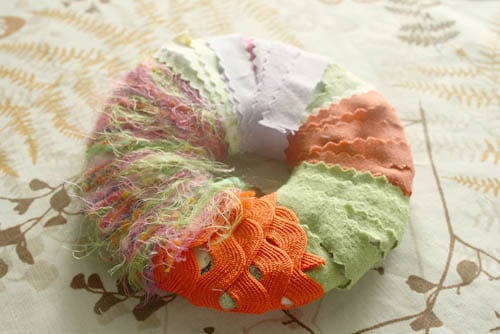 fabric donut