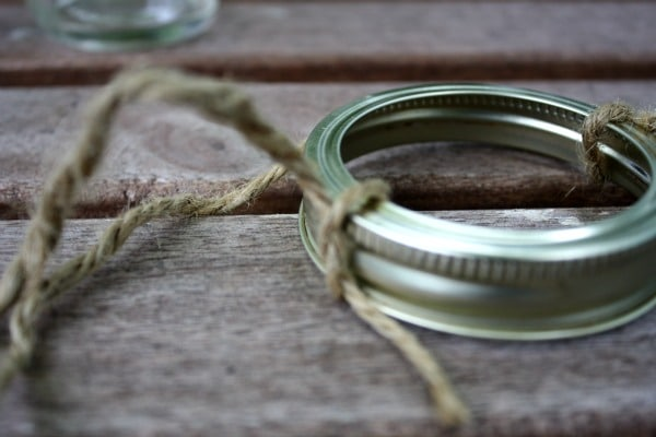 Mason jar lid ring