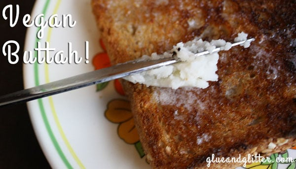 Palm Oil Free Vegan Butter