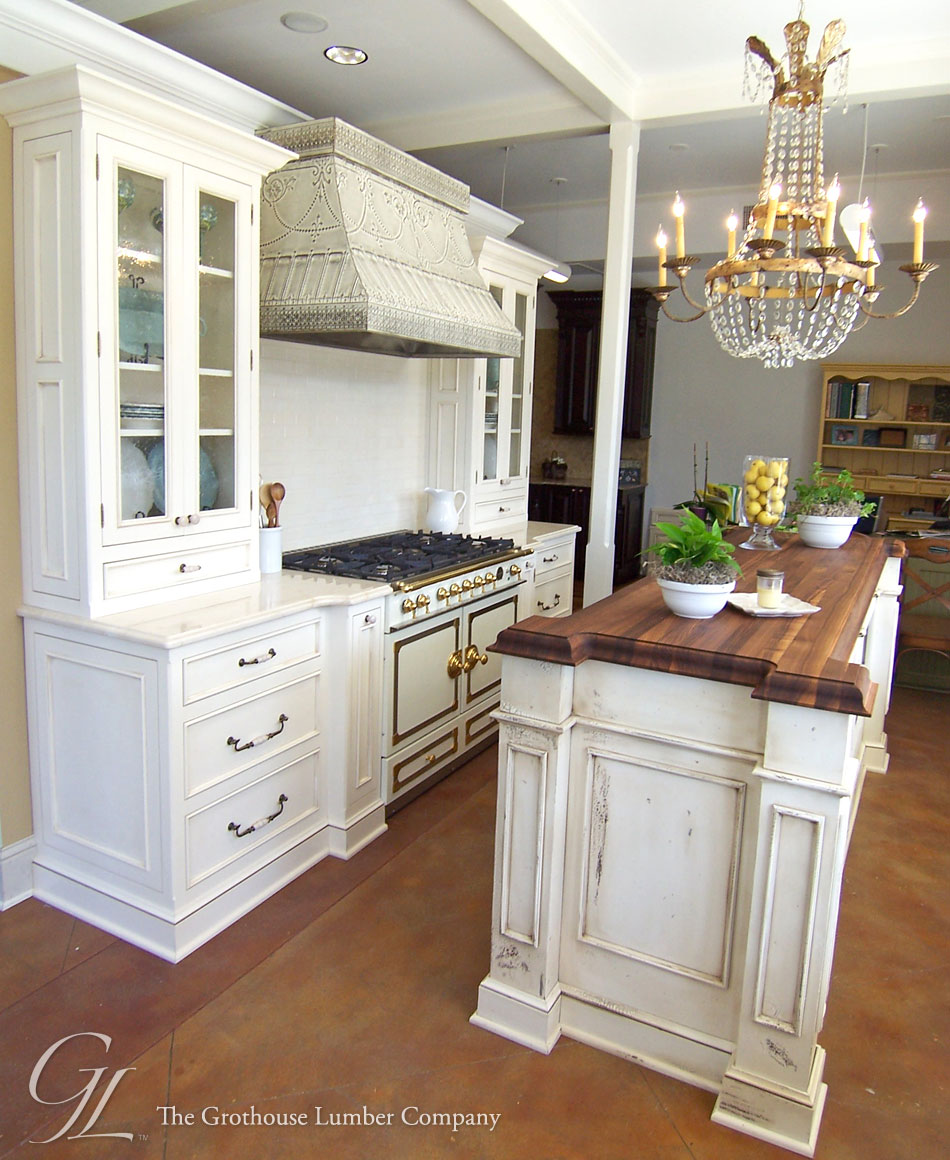 countertops new orleans kitchen island countertop Walnut Wood Countertop Kitchen Island New Orleans Louisiana