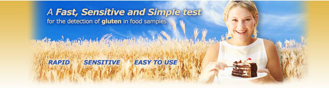 Portable ELISA Gluten Testing Strips