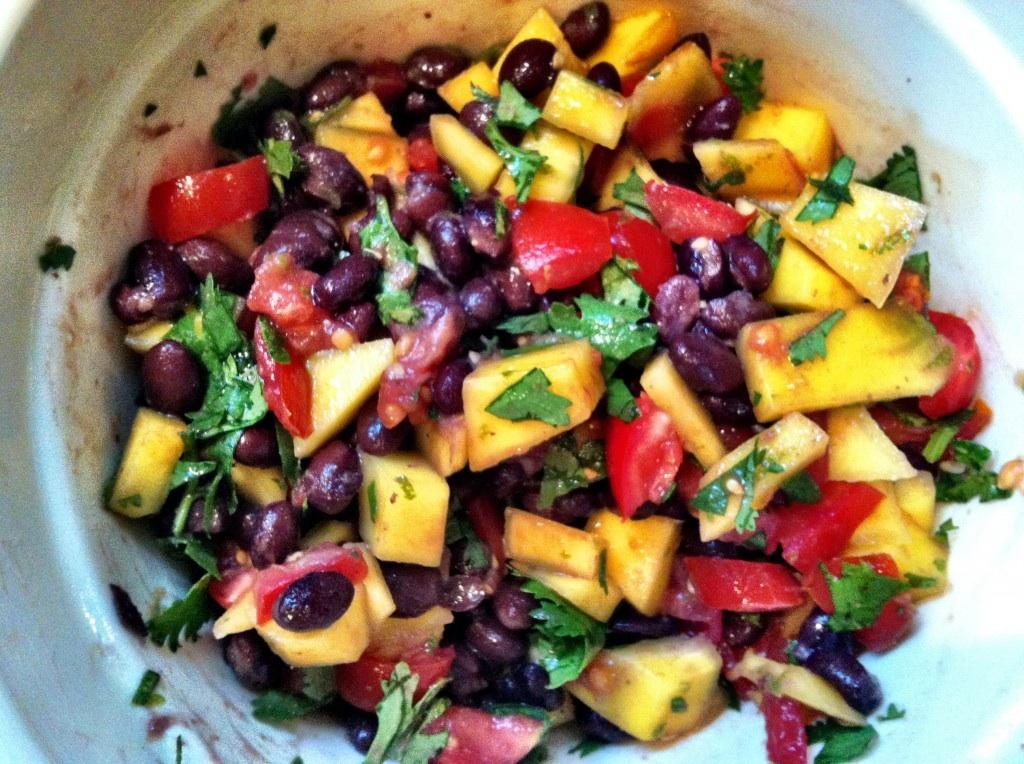 GF Mango & Black Bean Salsa