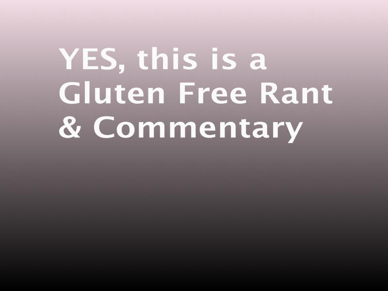 Celiac Disease & Gluten Sensitivity are NOT A FAD, it's real!