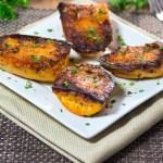 Parmesan Baked Sweet Potatoes