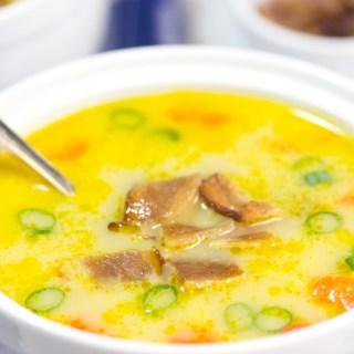 gluten free chowder, gluten free soup, wild cod chowder