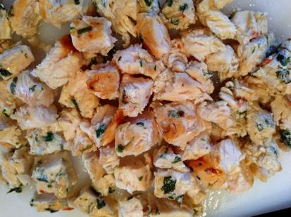 Chopped Sauteed Chicken