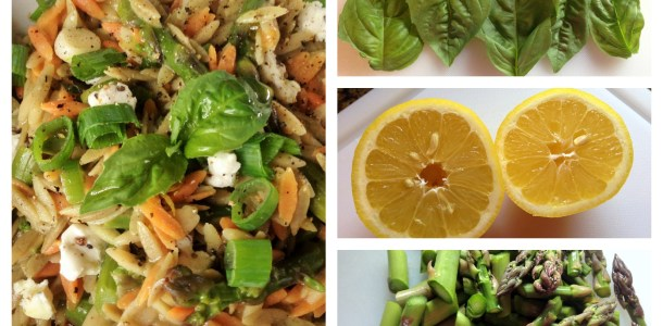 Gluten-free Orzo with Asparagus & Lemon Zest