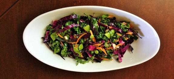 Healthy Chopped Salad with Citrus Vinaigrette