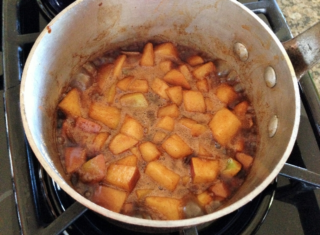 Simmering Apple Compote