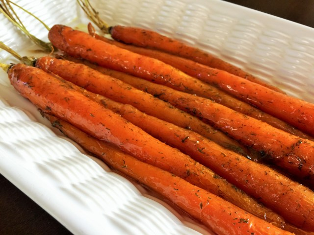 Layering the Carrots