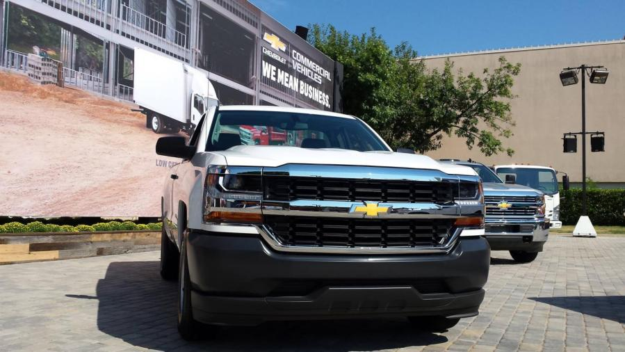 2016 Silverado Is First To Offer HID Headlights Standard   The     Facebook worktruck1 jpg