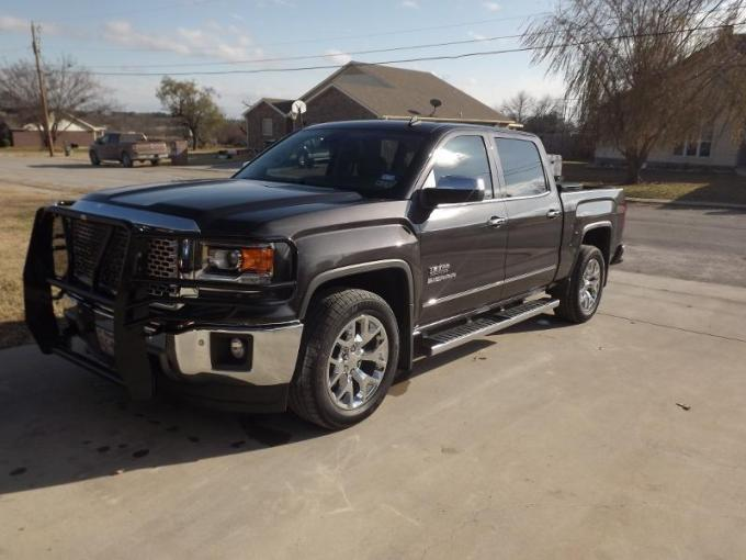 GMC with Grille Guard   2014   2018 Chevy Silverado   GMC Sierra     post 123964 0 67636000 1386970075 thumb jpg