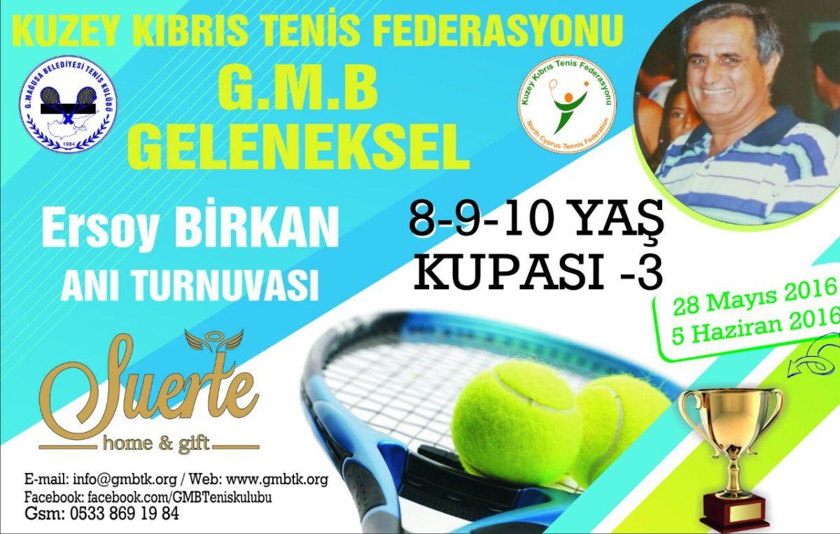 Ersoy Birkan 8-9-10 Yaş Anı Turnuvası Başlıyor!