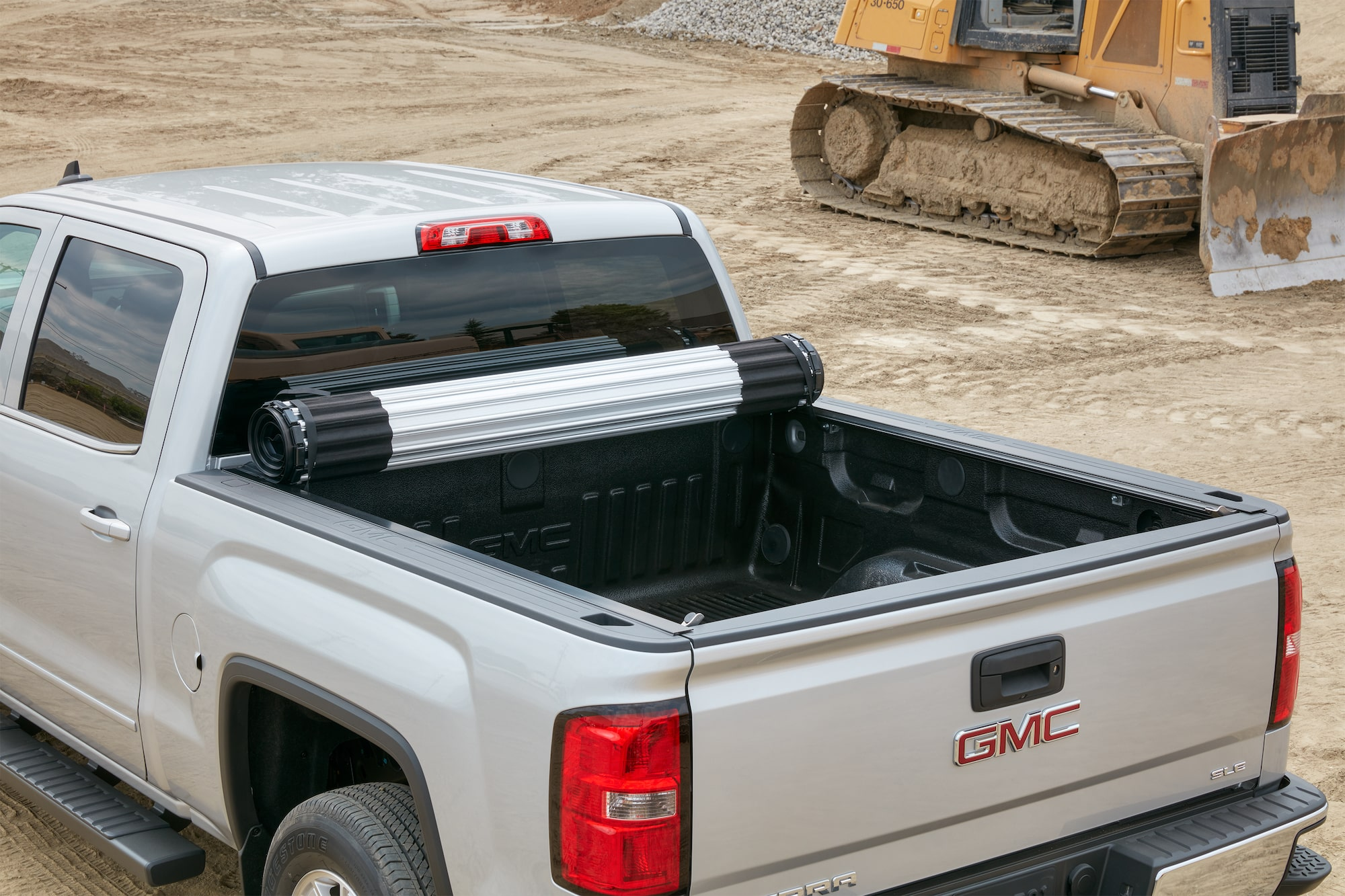 Top Your Pickup With a Tonneau Cover   GMC Life GMC life tonneau cover rollling cover