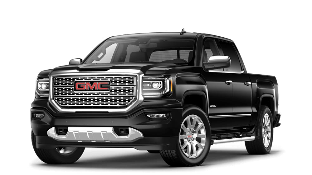 Light Duty  Heavy Duty   Mid Size Pickup Trucks   GMC 2018 Sierra 1500 Denali onyx black
