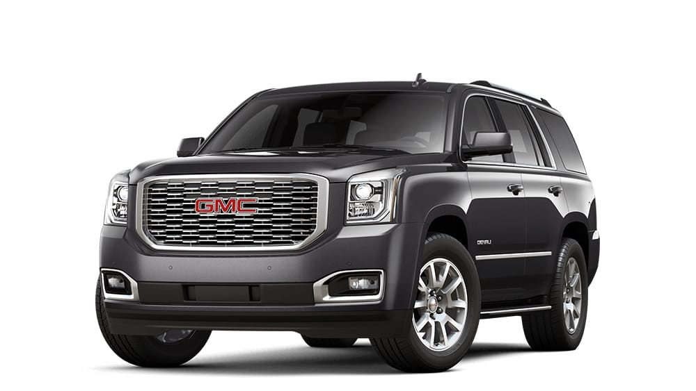 Small  Mid Size   Full Size SUVs   GMC 2018 Yukon Denali iridium metallic