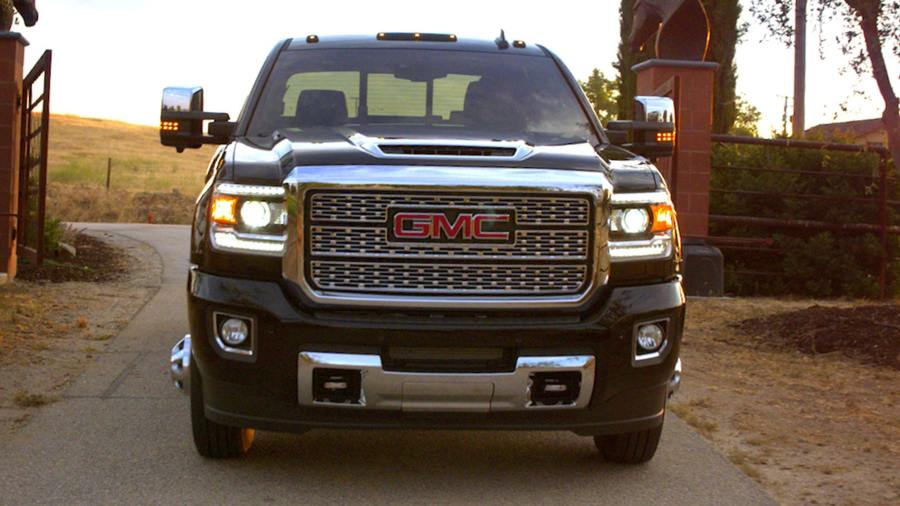 New GMC Denali Luxury Vehicles   Luxury Trucks and SUVs 2018 Sierra HD Denali exterior product video