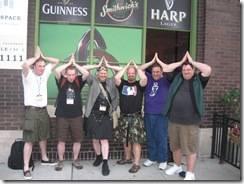 L to R: Patrick, Martin, John, Kurt, Walt, Phil
