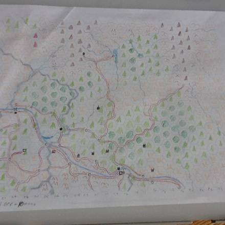 Troy's Crock Pot: 10 Steps To A DIY Map, Part 1