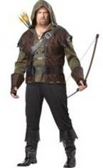 A basic robin-hood costume