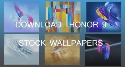 Download Full HD Huawei's Honor 9 Stock Wallpapers