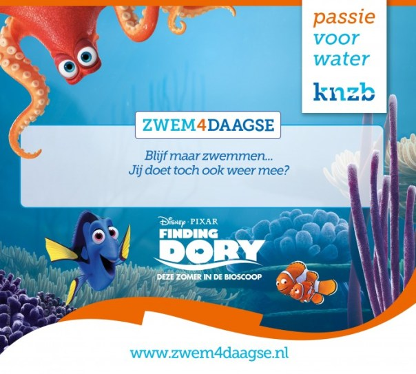 Finding Dory - Zwem4daagse