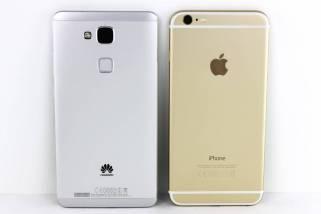 iPhone 6 Plus vs. HUAWEI Ascend Mate 7