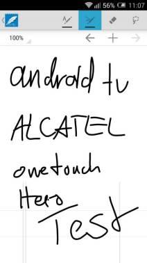 ALCATEL onetouch Hero 2 Test