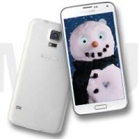 Samsung baut Schneemann aus Samsung Galaxy S5