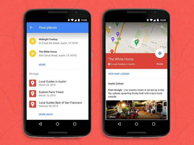 Google My Maps in Google Maps