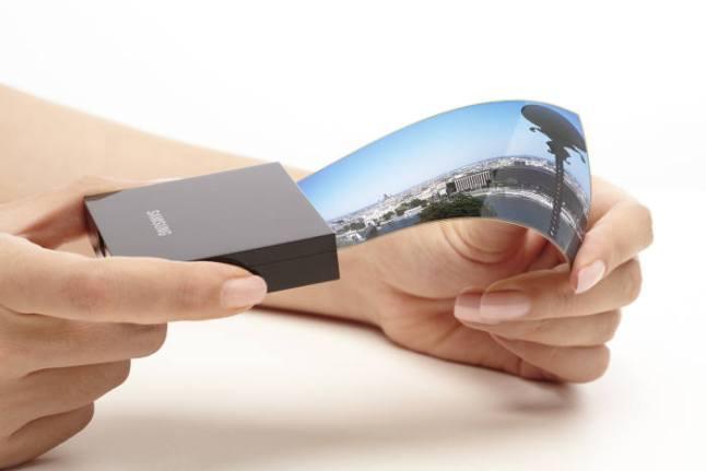 Flexibles Display von Samsung