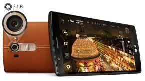 LG G4 in Leder