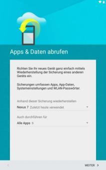 Smartphone-Umzug
