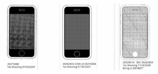 Apple-Patent für das iPhone
