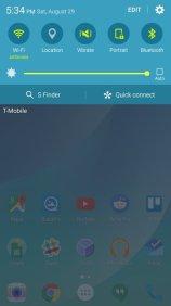 Samsung Galaxy Note 5 Marshmallow mit TouchWiz
