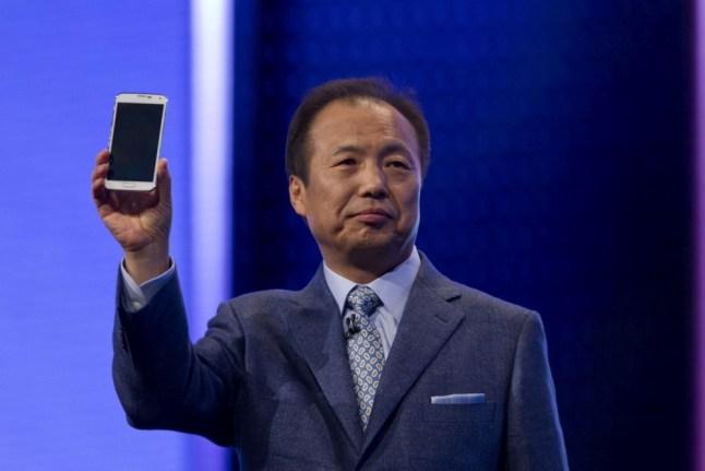 Jong-Kyun Shin, ehemaliger Chef von Samsung Mobile Electronics