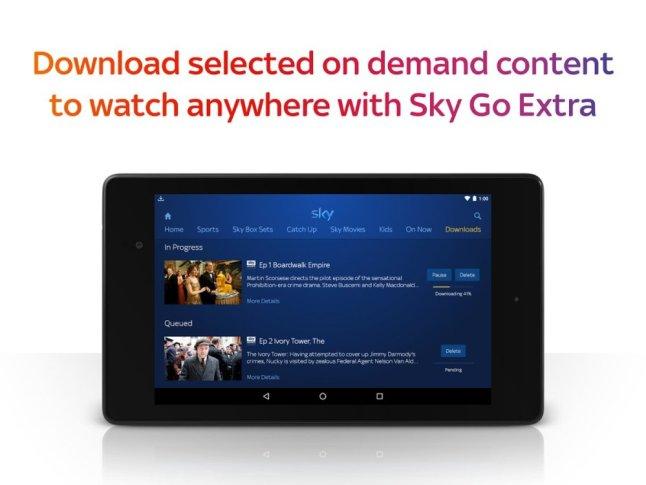 Sky Go UK Update