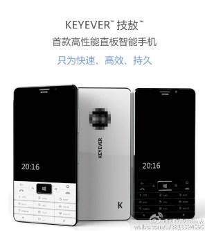 KEYEVER Windows 10 Mobile Smartphone Leak