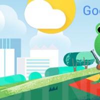 Google Wetterkarten: Der Frosch ist los!