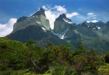 Patagonia's Torres del Paine Mountains in Peri