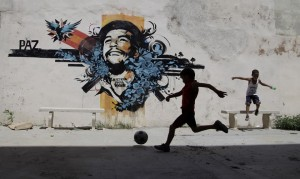 Football is not a mere game, it's a weapon for revolution.