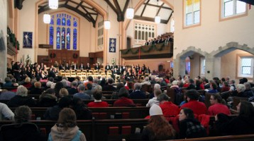 A Festival of Lessons and Carols in the Gobin Memorial Sanctuary