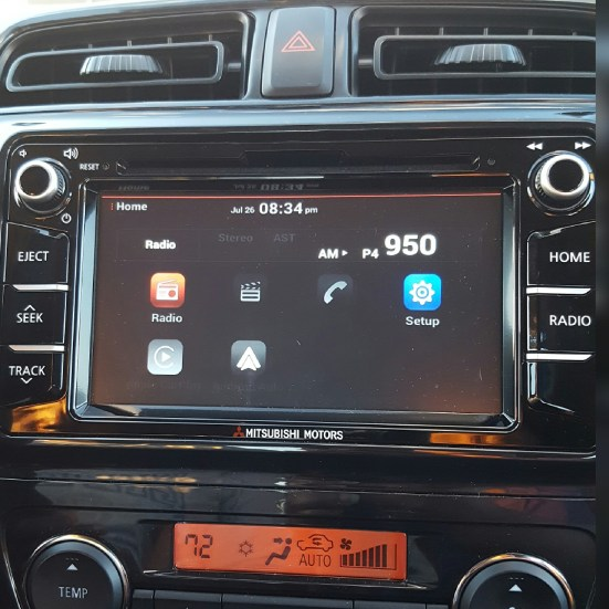 Mitsubishi-Mirage-Display-Audio-Smartphone-system