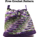 """Give Me Variety"" Tote Bag - Free Crochet Pattern"