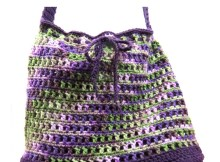 """""""Give Me Variety"""" Tote Bag - Free Crochet Pattern"""