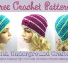 Free Crochet Pattern Read Aloud - Occasional Stripes Beanie