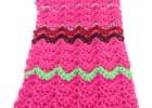 Crochet Mood Scarf 2016 - April