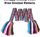 Scrappy Skinny Scarf - Free Crochet Pattern