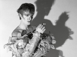 David Bowie Scary Monsters Shot