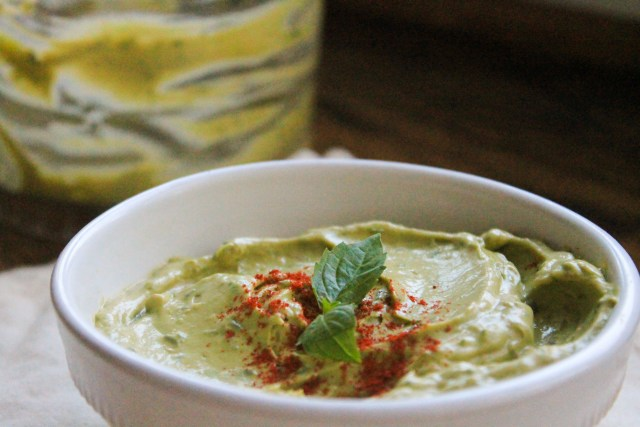 Basil Avocado Spread 2
